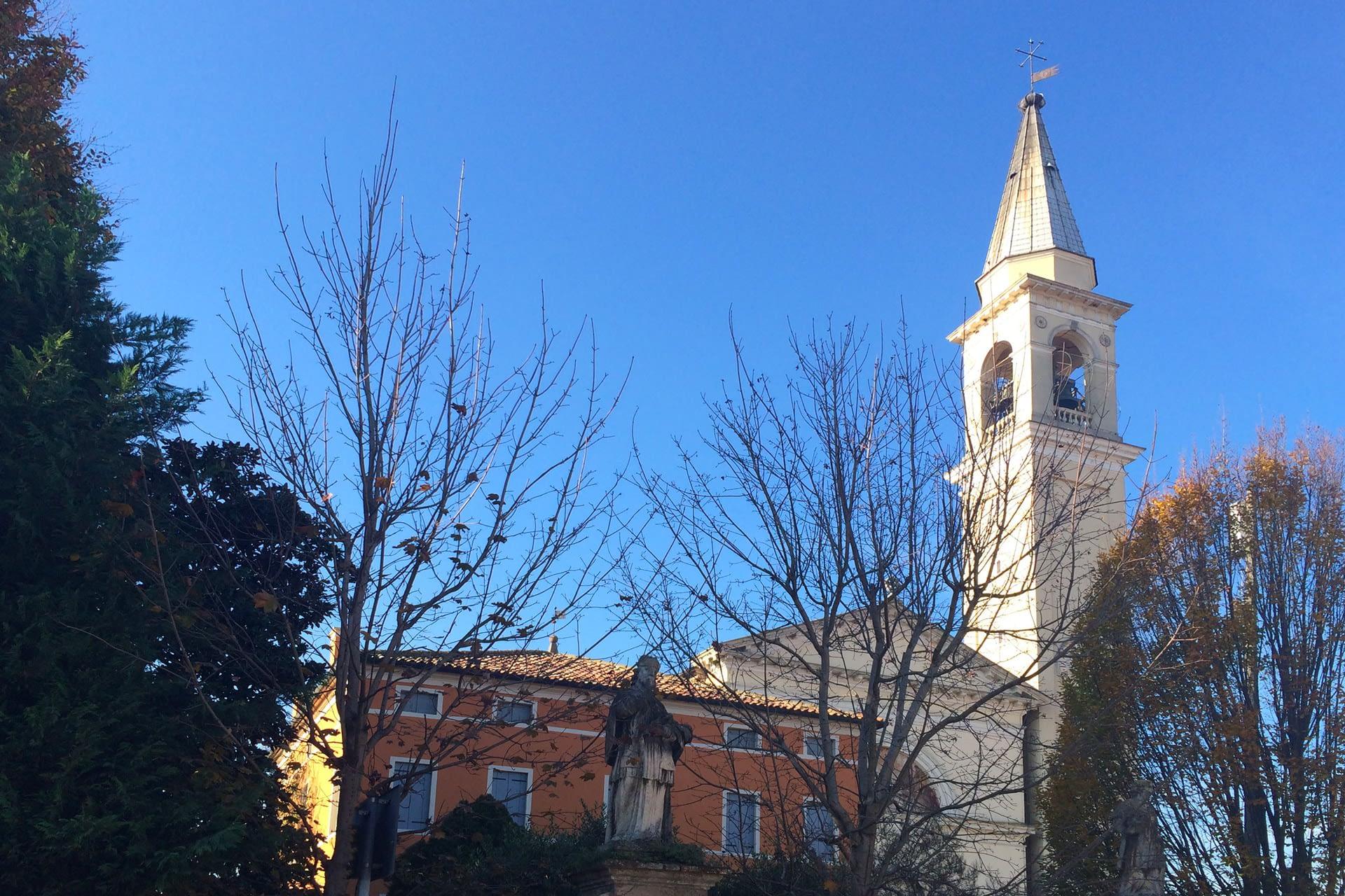 Pernumia_Vista della Chiesa di Santa Giustina