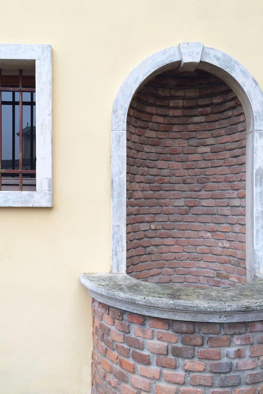 Pernumia_Dettaglio di Palazzo Rusconi