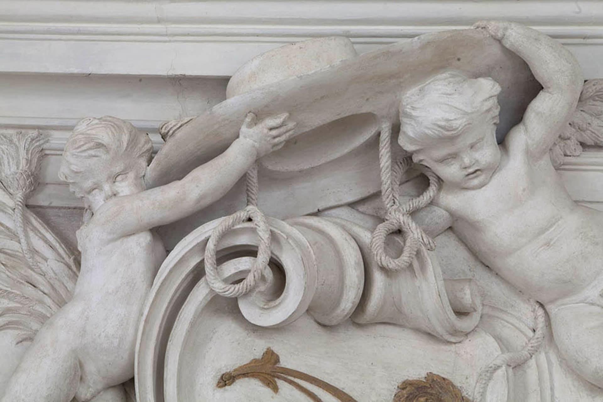 Bagnoli di Sopra_Dettaglio interno del Palazzetto Widmann