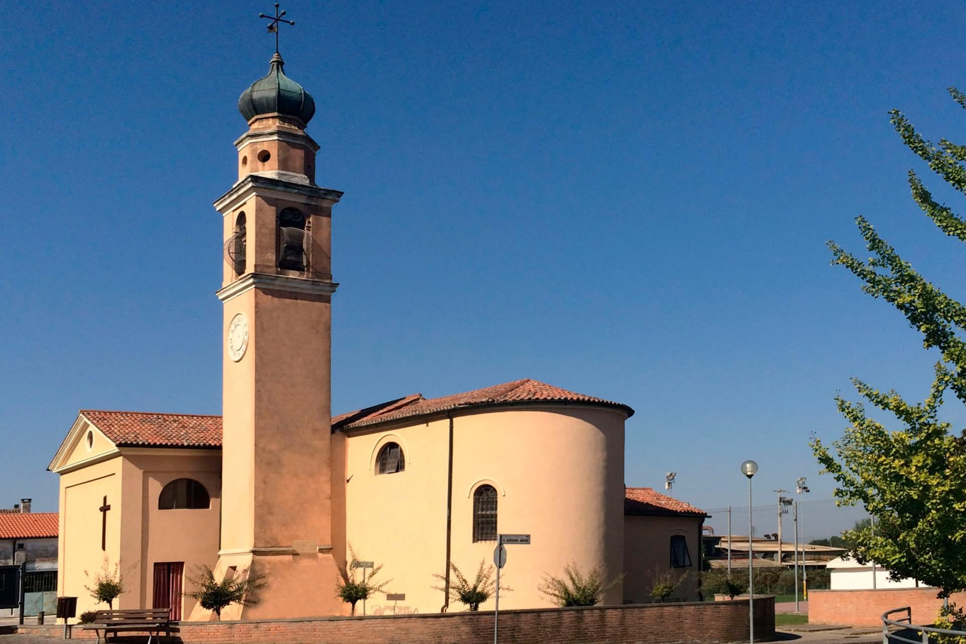 Anguillara Veneta_Chiesa di S. Antonio a Borgoforte
