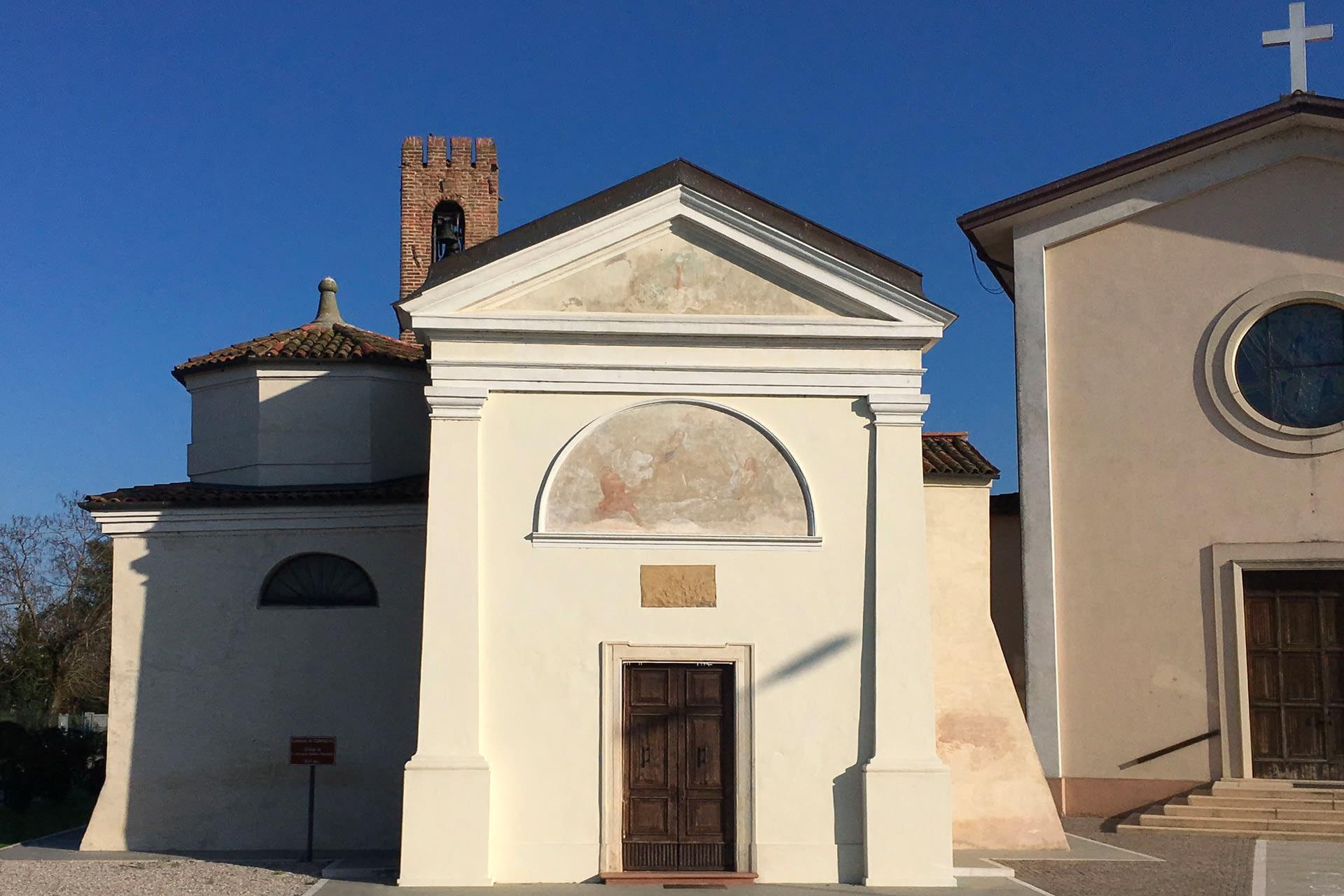 Conselve_Oratorio di San Giovanni Battista nella frazione di Palù