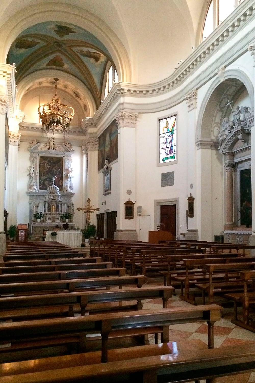 Bagnoli di Sopra_Interno della Chiesa di S. Michele