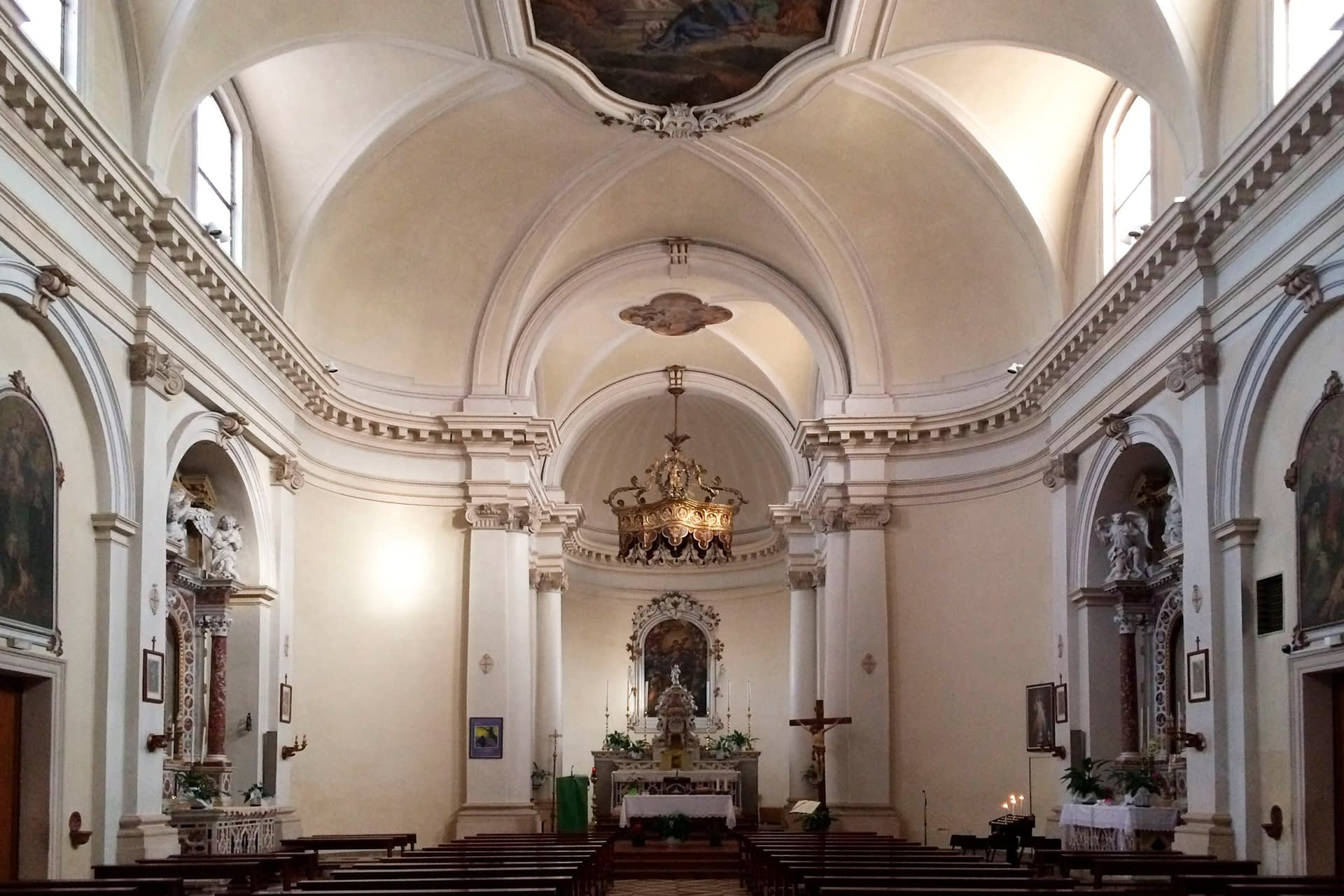 Cartura_Interno della Chiesa di S. Maria Assunta