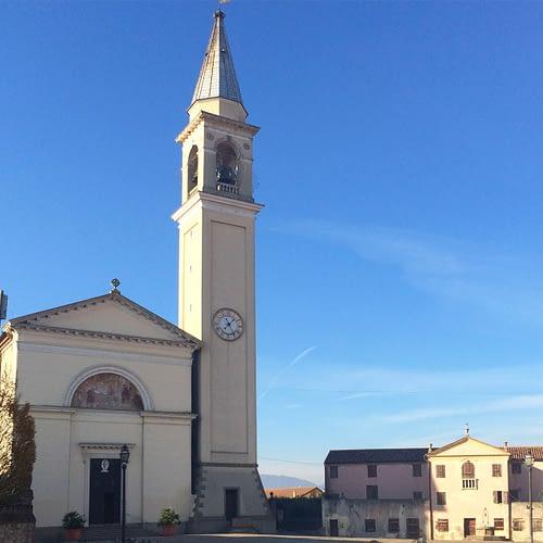 Pernumia_Chiesa di Santa Giustina e Casa del Capitano