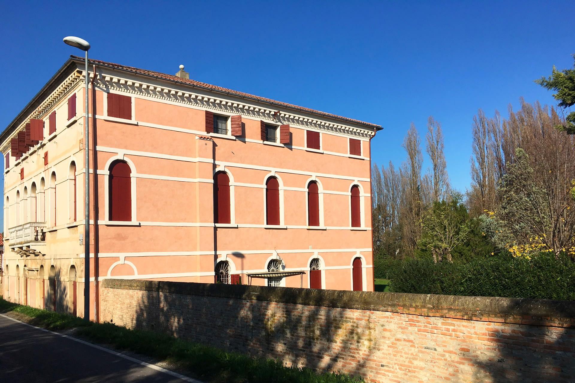Cartura_Vista di Villa Gosetti