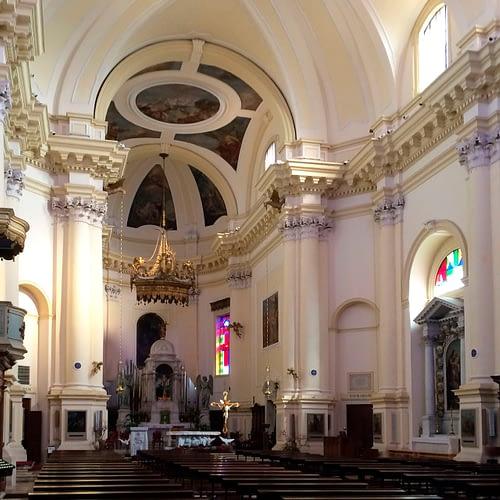 Tribano_Interno della Chiesa di San Martino