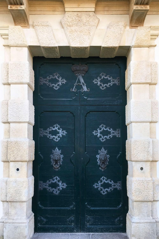 Bagnoli di Sopra_Dettaglio del portale di Villa Widmann Borletti