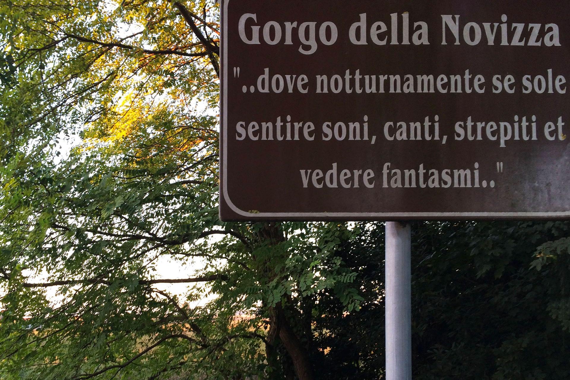 Anguillara Veneta_Cartello del Gorgo della Novizza
