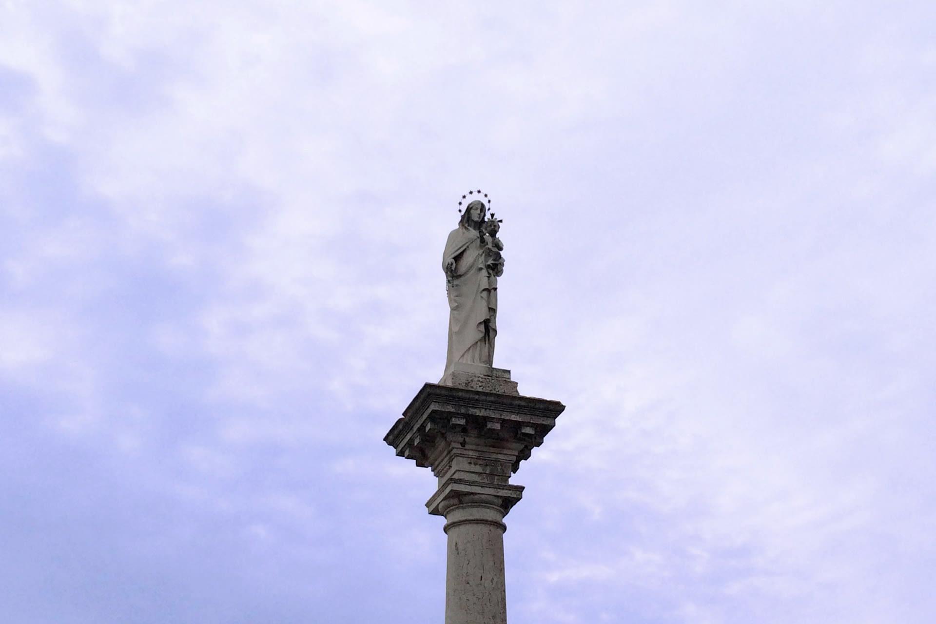 Bagnoli di Sopra_Colonna della Madonna