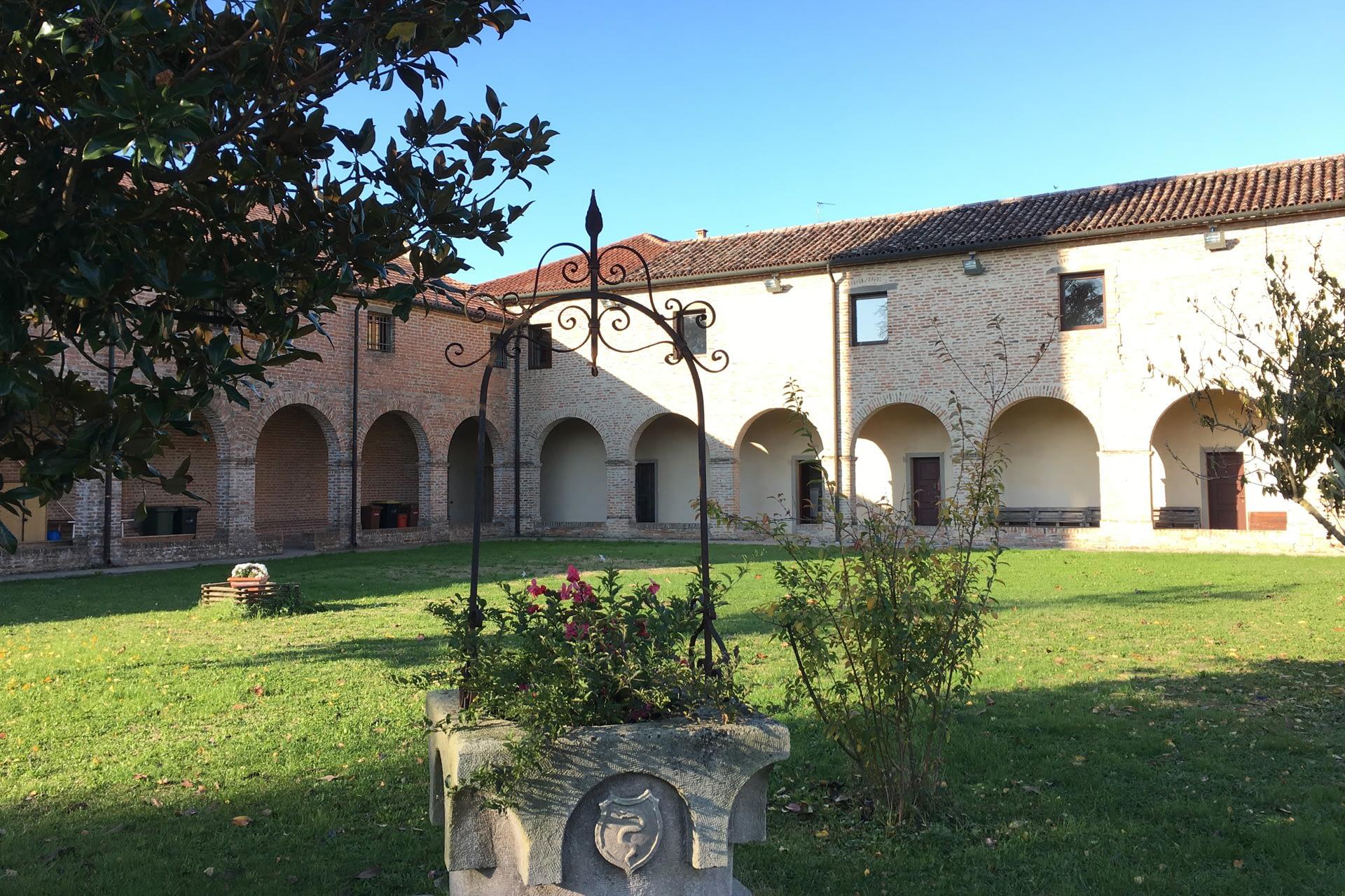 San Pietro Viminiario_Chiostro del Convento Francescano