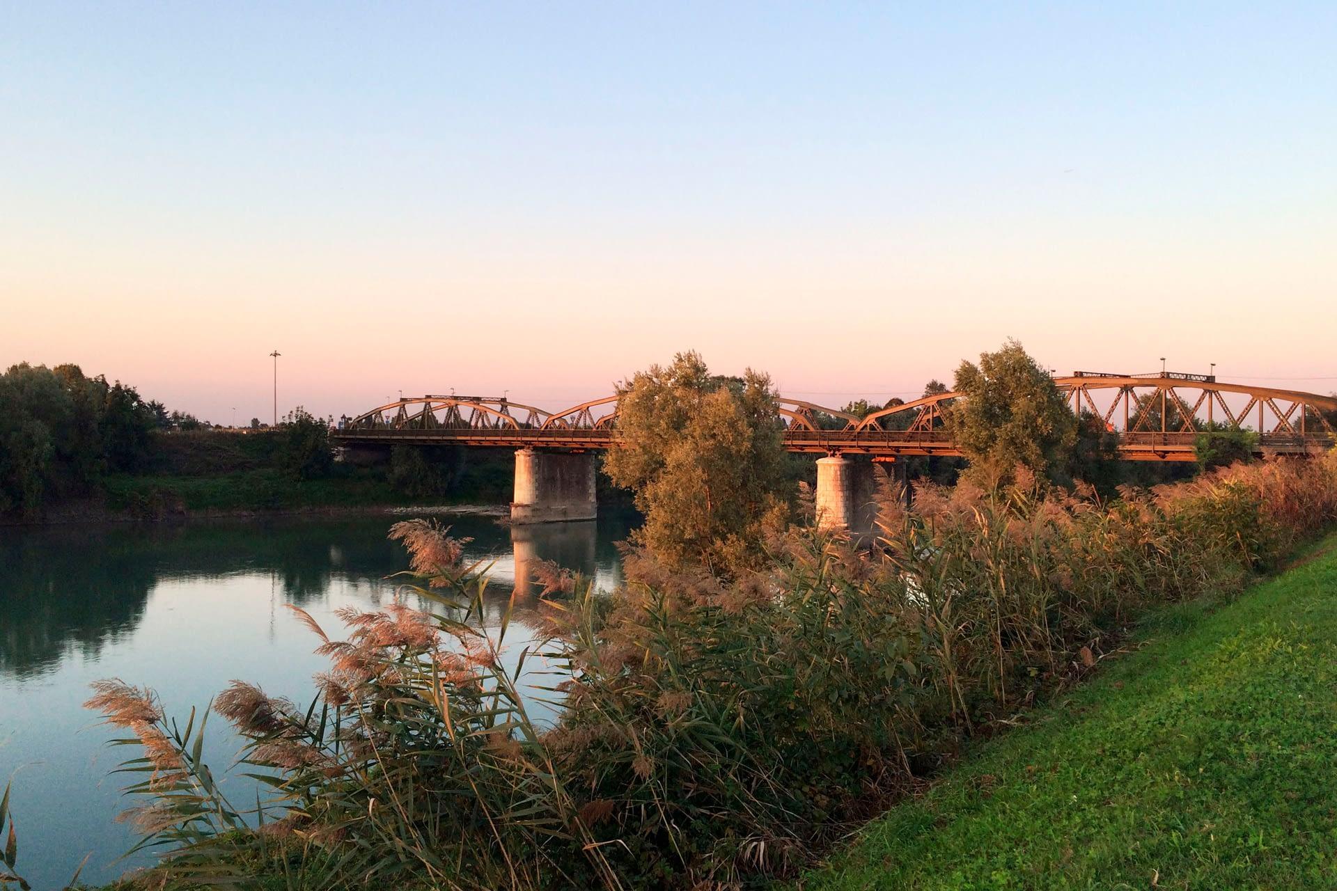 Anguillara Veneta_Il ponte sul fiume Adige