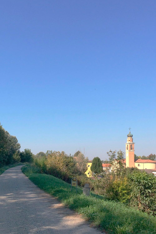 Anguillara Veneta_Scorcio della Chiesa a Borgoforte